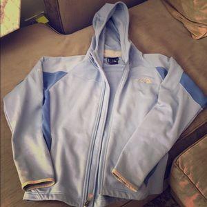 Women's North Face Jacket (Periwinkle, SZ: M)